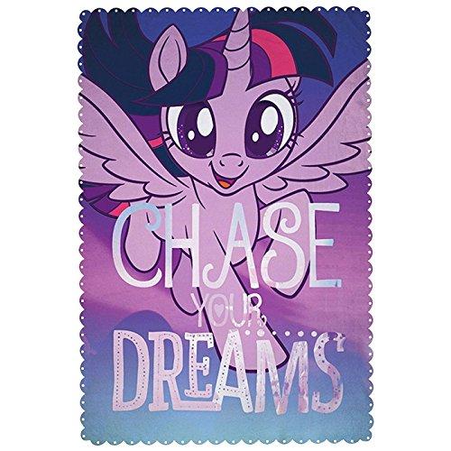 My Little Pony Film 'Adventure' Fleece Decke-Großer Print Design, Mehrfarbig
