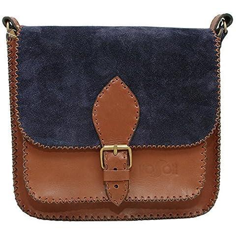 Koson Leather echtes Leder-handgemachter Schultaschen-Schulter-Partei-Festival-täglicher Handtaschen-Kurier