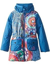 Desigual Kids niña 48e3096 Chaqueta de Invierno/Chaqueta/Abrigo Agua Azul Gaultier Azul