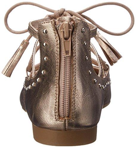 Bella Vita Ollie Toile Chaussure Plate Champagne