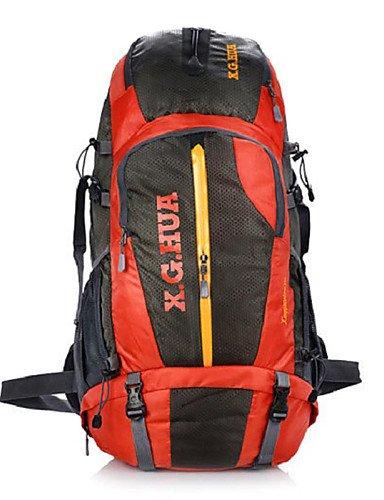ZQ 50 LTravel Duffel / Travel Organizer / Rucksack / Tourenrucksäcke/Rucksack / Laptop-Rucksäcke / Wandern Tagesrucksäcke / Radfahren Red