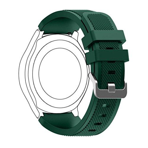 Malloom® Bracelet pour Samsung Gear S3 Classic en Silicone 22mm