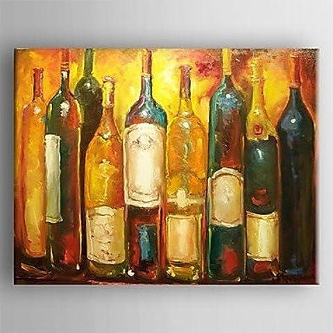 BL pittura ad olio natura morta asbtract