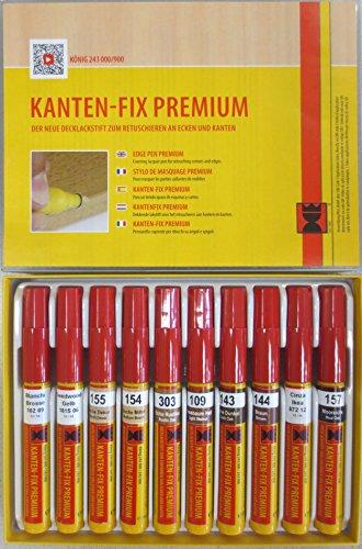 konig-holz-u-oberflachenkorrektur-kantenfix-premium-stifte-eiche-tone-serie-214-10-stifte-decklackst