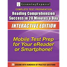 Reading Comprehension Success in 20 Minutes a Day: Interactive Edition