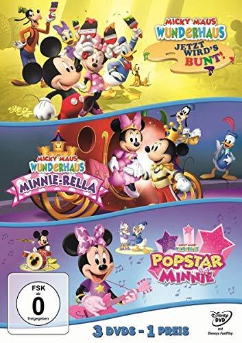 s - Jetzt wird's bunt/Minnie-Rella/Popstar Minnie (Dreierpack) [3 DVDs] ()