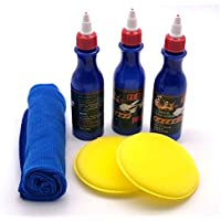 Kit de quitamanchas 3pcs Herramienta de pulido embalado Limpiador de teléfonos Aplicador de vidrio Dent Reparador de carrocerías Sellador de relleno de ...