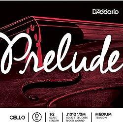 D'Addario Orchestral Prelude - Cuerda individual Re para violonchelo, escala 1/2, tensión media