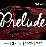 D\'Addario Bowed Corde seule (Ré) pour violoncelle D\'Addario Prelude, manche 1/2, tension Medium