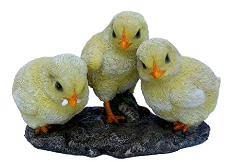 Vivid Arts Natures Friends Lot de 3 statuettes de poussins