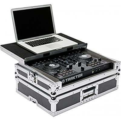 Pioneer DDJ-SB2 Controller Flight Case Workstation with Laptop Stand