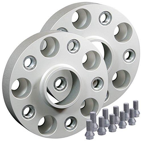 SilverLine Spurverbreiterung HA 40mm Achse (20mm Rad) LK: 5x112 66,6mm - 13250BES_5_4250891962895