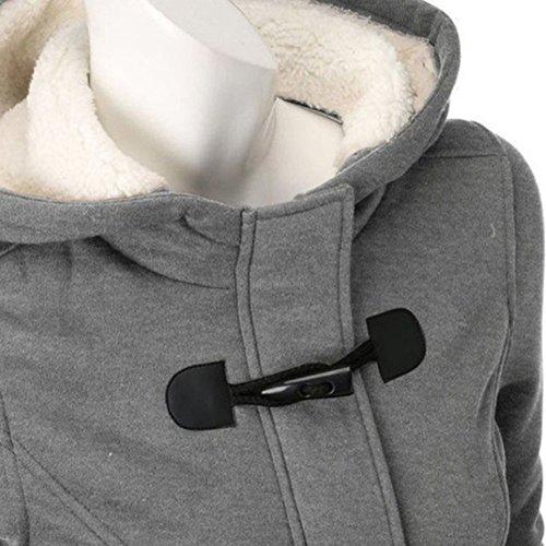Donna-Giacca-Cappotto-con-Cappuccio-Giacche-Abbottonato-Parka-Outwear