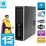 HP PC Compaq Pro 6200 SFF Intel G840 RAM 4GB 250 GB DVD-Brenner WiFi W7