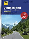 ADAC Superstraßen Deutschland, Österreich, Schweiz & Europa 2016/2017 1:200 000 (ADAC Atlanten)