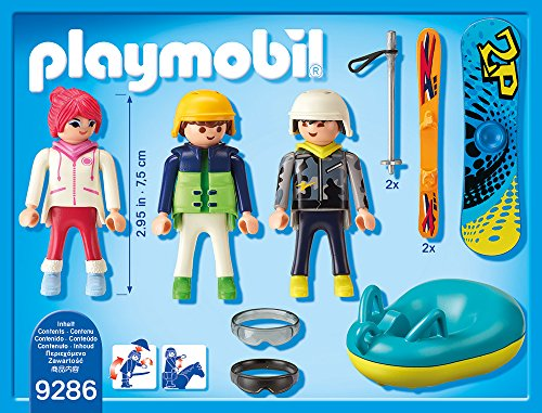 PLAYMOBIL 9286 – Freizeit-Wintersportler