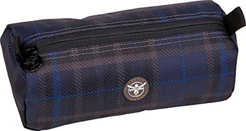 Chiemsee Unisex Stiftetasche the Pen Pocket Check Black