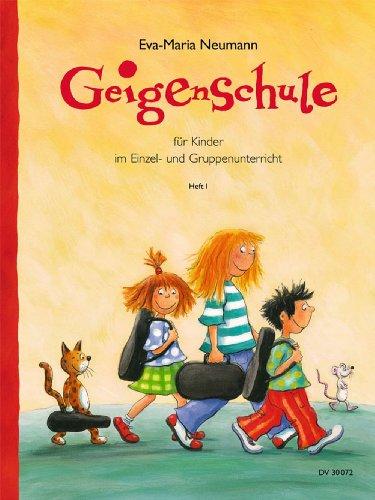 Geigenschule für Kinder im Einzel- und Gruppenunterricht - Band 1 (DV 30072)