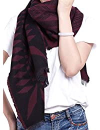 Schal Heden - großer XL Schal/Tuch mit trendigem Farb-/Mustermix und wendbar zu tragen