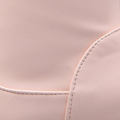 Esaltato Tallone Stivali Rosa Tira Dorteil Materiale Donna Flessibile Voguezone009 Chiusura 1pwqTSg5