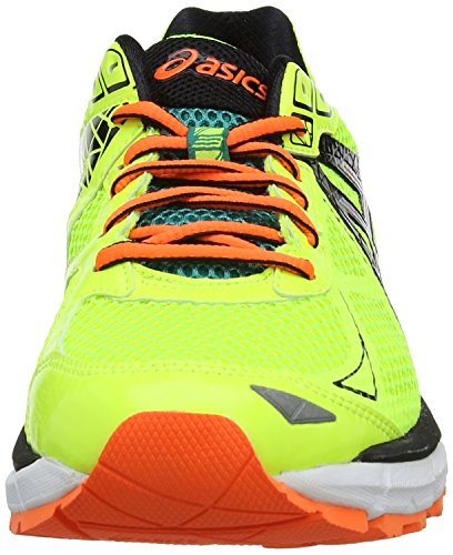 Asics Gt-2000 2, Chaussures de trail homme Jaune (Flash Yellow/Silver/Emerald Green 793)