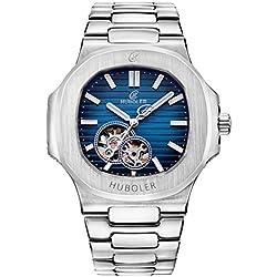 HUBOLER Men's Fashion Arder Mechanical Watch With HX-020-Y 03
