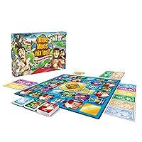 Hasbro-Spiele-00032398-Ohne-Moos-nix-los-Familienspiel Hasbro Spiele 00032398 – Ohne Moos nix los!, Familienspiel -