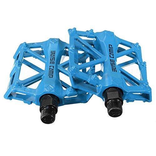 MaMaison007Bicicletta ciclismo MTB BMX Bike cuscinetto alluminosa Lega pedali - blu