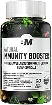 Bigmuscles Nutrition Natural Immunity Booster | Defence Support Supplement Against Cold & Flu Contains Vit