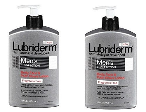 lubriderm-lubriderm-mens-3in1-lotion-body-face-and-postshave-lotion-fragrance-free-16-fl-oz-by-lubid