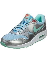 super popular df649 3bdae Nike Air Max 1 GS 653653-600, Baskets Mixte Enfant