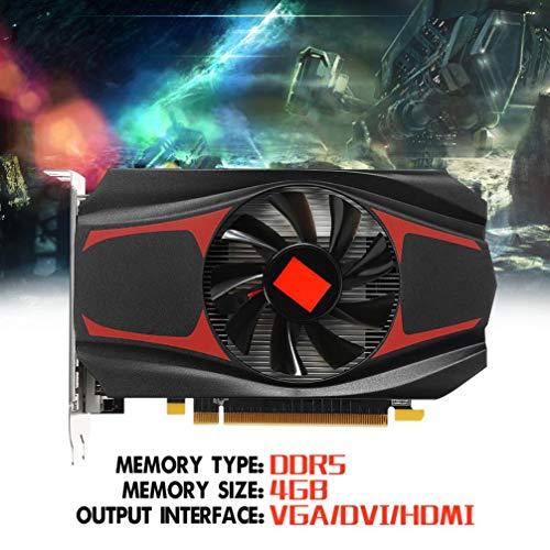 HKFV AMD HD7670 Graphics Card Für AMD ATI Radeon HD7670 4 GB DDR5 128 Bit Pci-Express unabhängige Grafikkarte HD7670 Grafikkarte