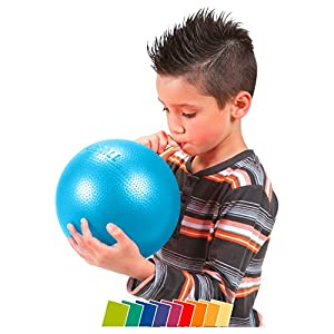 Overball 23 cm blau weicher griffiger Ball