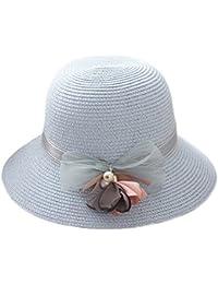 Youkara Sombrero de paja de verano para niñas 991869b6d15