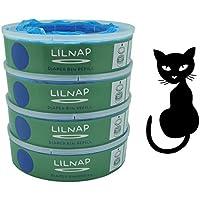 LILNAP - Recambios para Litter Locker II (4 recargas)
