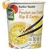 SUZI WAN Nouilles en pot saveur poulet au curry 62g - prêtes en 4 min