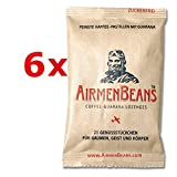 Airmen Beans 6x Kaffee Pastillen Guarana 126 Stück