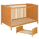 Best For Kids NELLY 2 in 1 GITTERBETT KINDERBETT JUNIORBETT BETT TODDLER BED 140x70 + GRATIS