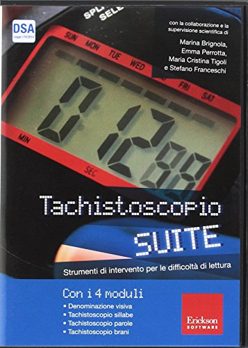 Tachistoscopio suite. CD-ROM