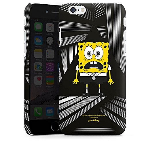 Apple iPhone X Silikon Hülle Case Schutzhülle Spongebob Fanartikel Merchandise Spongebob Schwammkopf Premium Case matt