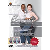 SalsaCrazy Bachata - Learn To Dance Bachata Mastery System 3 DVD Set: A Step-By-Step Guide To Bachata Dancing! Beginning Intermediate and Advanced Bachata Dance [3 DVD Boxed Set] [Import] [NTSC] [All Regions] Plays Everywhere