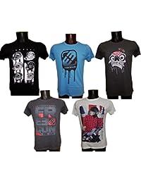 T shirt Freegun adulte Pack assorti lot de 5