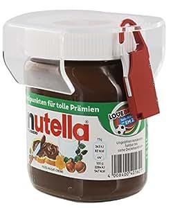Chocosafe® - nutella LOCK Transparenter Deckel mit rotem Schloss - 1St