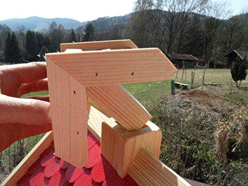 Arbrikadrex Futtersilo Futterhaus Schreinerware Holz