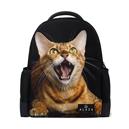 My Daily Rucksack Bengal Cat 35,6cm Laptop Daypack Schultasche für Reisen College Schule (Bengals-rucksack)