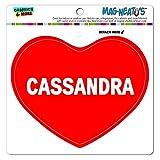 Mag-Neato 's-TM Auto Kühlschrank Vinyl Magnet I love Herz Namen weiblich C Carl, Cassandra