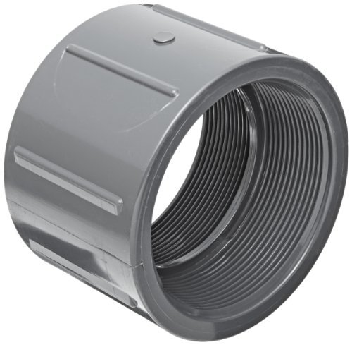 Spears 830 Series PVC Pipe Fitting, Coupling, Schedule 80, 1/4 NPT Female by Spears Manufacturing -