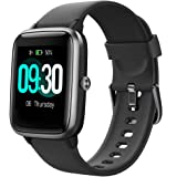 Willful Smartwatch,1.3 Zoll Touch-Farbdisplay Fitness Armbanduhr mit Pulsuhr Fitness Tracker IP68 Wasserdicht Sportuhr…