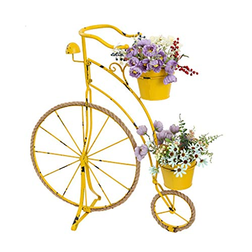 Hemp Rope Iron Bicycle Flower St...