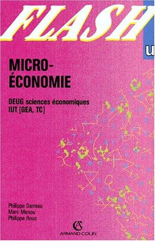 MICRO-ECONOMIE. Deug sciences économiques IUT (GEA, TC) par Collectif, Daniel Fredon